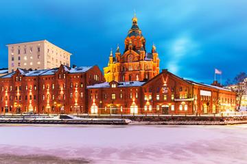 Winter in Helsinki, Finland