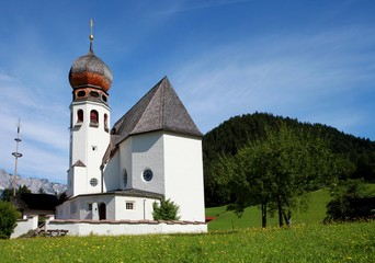 church in Oberau - Berchtesgaden, Germany