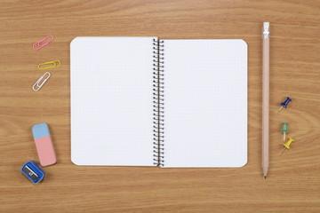 Cuaderno y accesorios