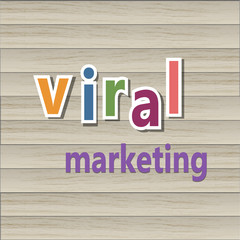 Viral marketing background