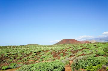 Nationalpark Malpais de Rasca mit Teide