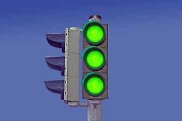 Alle Zeichen stehen auf Grün