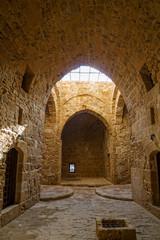 Interior of Paphos Castle, Cyprus.