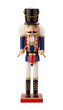 Antique Nutcracker Drummer isolated - 73980095