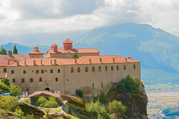 The Holy Monastery of St. Stephen, Meteora, Greece