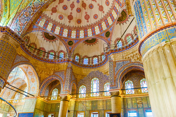 The Sultan Ahmed Mosque is a historic mosque in Istanbul, Turkey