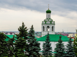 Belfry of St. John the Baptist Monastery in Kazan