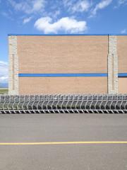 Shopping cart row