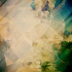 Abstract wooden background. Triangle design vector illustration