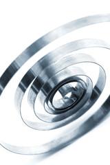 a coil spring