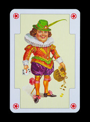 Spielkarten in Luxus und Nostalgie - JOKER und Hofnarr