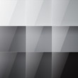 Gray shiny squares abstract background