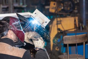 souder du métal fer acier