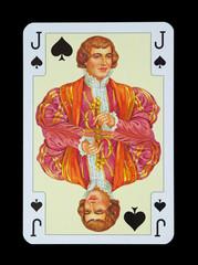 Spielkarten in Luxus und Nostalgie - Pik Bube