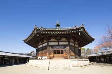 世界遺産奈良法隆寺の夢殿