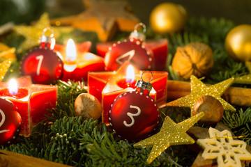 Adventslichter 3. Advent