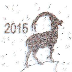 Symbol of 2015.