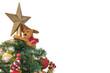Isolated, Christmas Tree