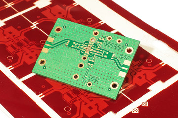 PCB of printed gerber mask for manufacturing