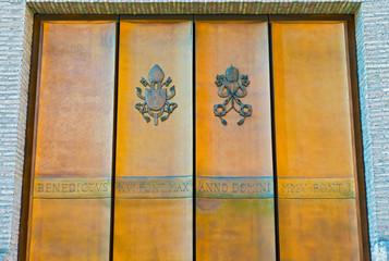 Entrance to Vatican city