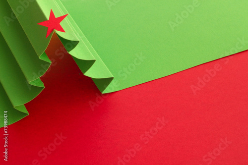 Leinwandbild Motiv Christmas tree background
