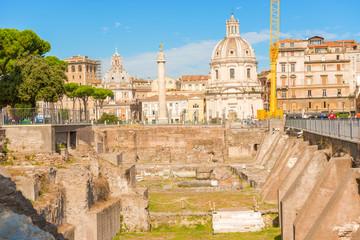 Trajan Forum, Rome, Italy.