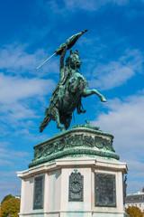 Statue of Archduke Charles in Vienna, Austria