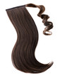 Dark brown hair piece - 73999458