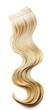 Blond hair piece - 74000292