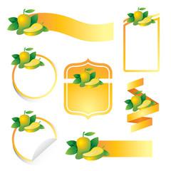 Label Set : Mango