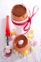 chocolate mousse, easter dessert