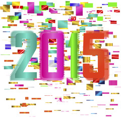 multicolored bright background 2015