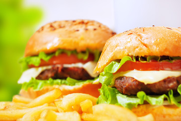 fastfood burgers