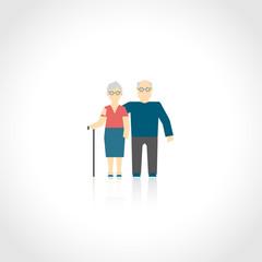 Senior Couple Flat