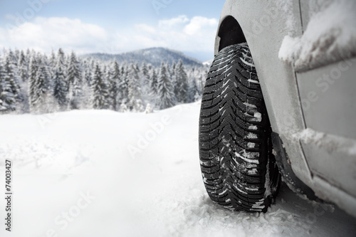 Winter tire poster