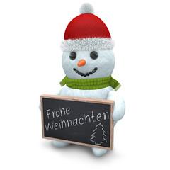 3D - Snowman - Shot 47