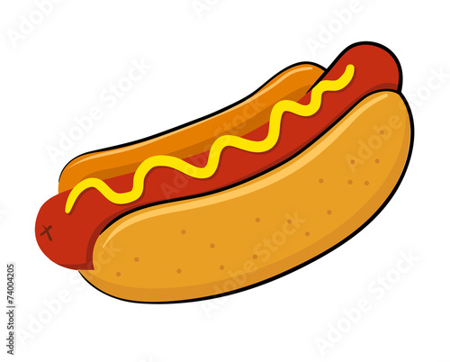 Fototapeta Hot dog