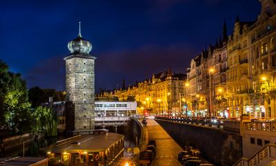 The Night Prague