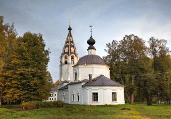 Успенский собор на Соборной горе (1699). Плёс, Золотое Кольцо
