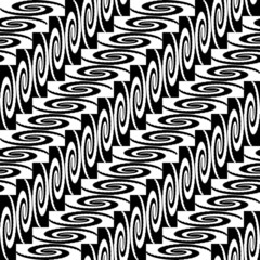 Design seamless monochrome diagonal decorative pattern