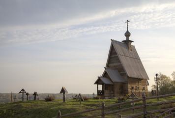 Деревянная Церковь Воскресения Христова (Воскресенская) (1699)