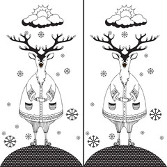 Find the ten differences between the two pictures 3