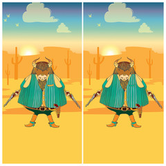Find the ten differences between the two pictures 1