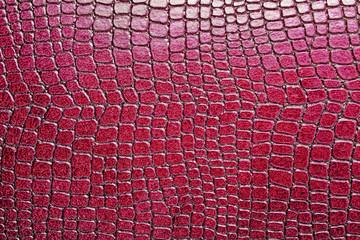 Red alligator patterned background