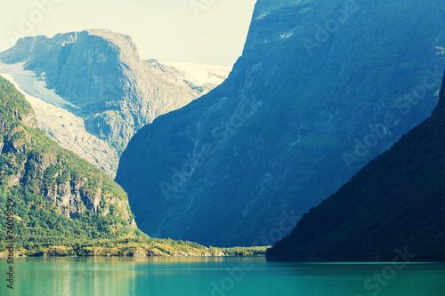 Lake in Norway - 74009829