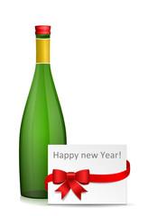 Flasche Silvester