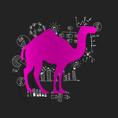 Drawing business formulas: camel