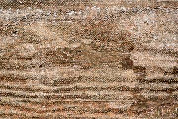 Huge brick wall