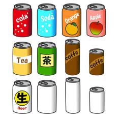 缶飲料(未開封)