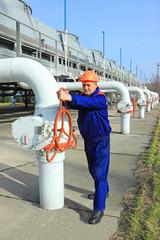 Worker closing valve